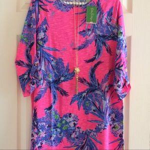 NWT Surfcrest Dress Tiki Out Limb Lilly Pulitzer